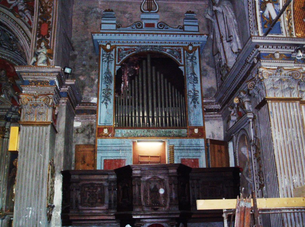 photo de l'orgue Bironico