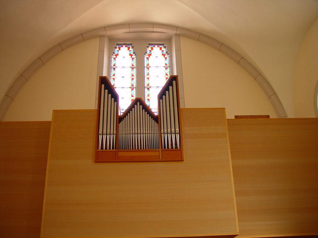 Orgue de l'église du Bouveret