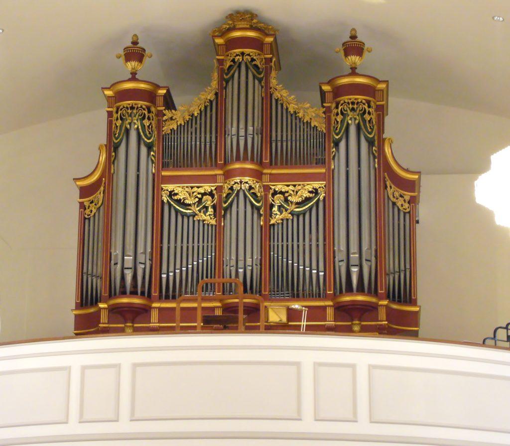 orgue mooser de bulle restauré par fuglister